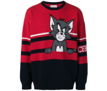 "Pullover mit ""Tom & Jerry""-Motiv"
