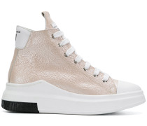 high-top lace-up sneakers