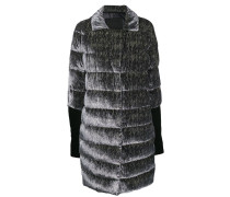 Gesteppter Oversized-Mantel