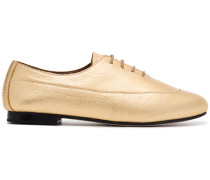 Gold Charlie leather Brogues