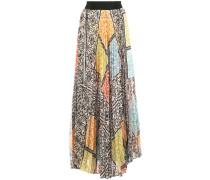 Habiba pleated maxi skirt