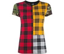 T-Shirt mit Schottenkaro