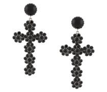 Ohrringe mit Kreuzanhänger