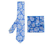 Set mit Krawatte und Einstecktuch
