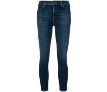 'Alana' Cropped-Skinny-Jeans