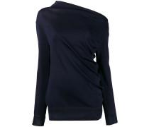 Pullover mit asymmetrischem Ausschnitt