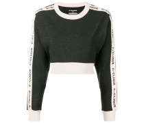 'Clique' Cropped-Pullover