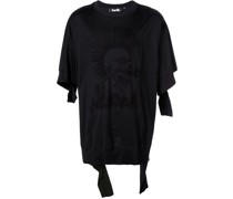 'Hac-Head' Destroyed-T-Shirt