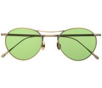 Pilotenbrille mit rundem Gestell
