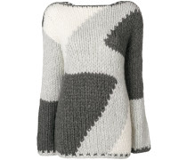 Intarsien-Pullover