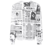 Page Six print sweatshirt