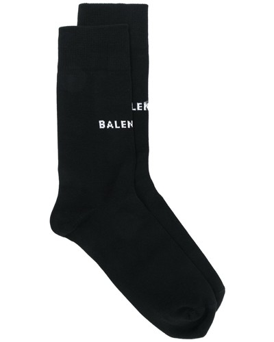 Socken mit Logo-Print