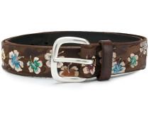 floral detail belt