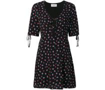 floral short-sleeved dress