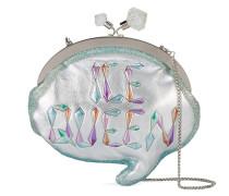 'Ice Queen Speech Bubble' Clutch