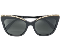 encrusted cat-eye sunglasses