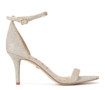 'Patti' Sandalen mit Glitter-Finish