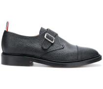 Single Monk Strap Leather Shoe