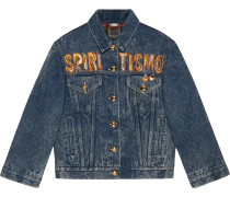 """Spiritismo"" denim jacket"