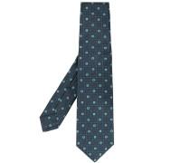 Jacquard-Krawatte mit Rautenmuster