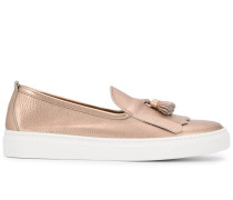 Loafer in Metallic-Optik