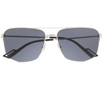 Geometrische Pilotenbrille