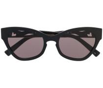 Cat-Eye-Sonnenbrille im Oversized-Look