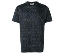 T-Shirt mit geometrischem Muster
