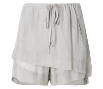 double layered shorts