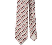 lipstick print tie