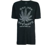 """T-Shirt mit """"Let's Party""""-Print"""