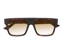 Eckige Brille in Schildpattoptik