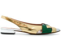 slingback pointed pumps