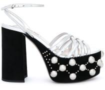 Sandalen mit Kunstperlen