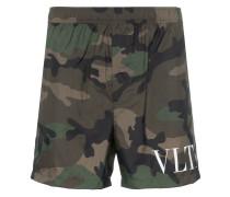 VLTN Camouflage-Badeshorts
