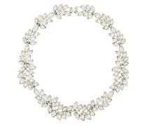 Halskette mit Kristallblatt