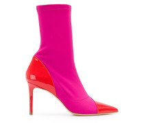 ELISE7180 FUXIA/ROSSETTO Leather/Fur/Exotic Skins->Leather