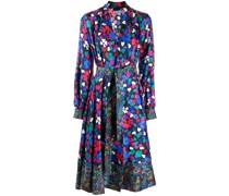 Wildflowers floral-print wrap dress