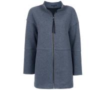 Champanhe textured coat