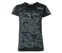"T-Shirt mit ""World Tour""-Print"
