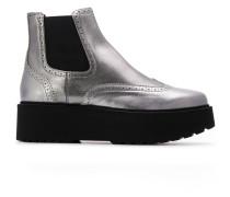 platform sole Chelsea boots
