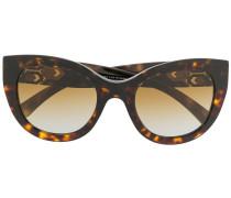 'Serpenti' Sonnenbrille mit Kristallen