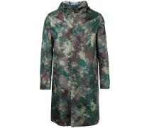 Mantel in Camouflage-Optik