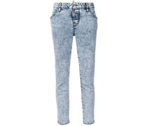 Skinny-Jeans mit Acid-Wash-Optik