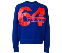 "Sweatshirt mit ""64""-Sweatshirt"