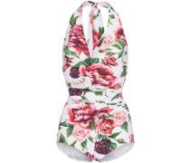 Badeanzug mit Blumenmuster