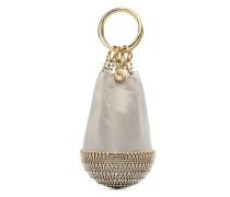 'Ghizlan' Clutch mit Kristallen