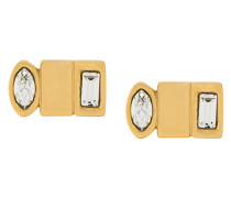 Matrix stud earrings