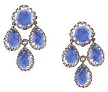 Antoinette Girandole Cobalt earrings