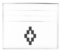 Kartenetui mit Logo-Print